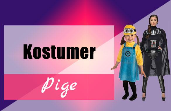 Kostumer Pige